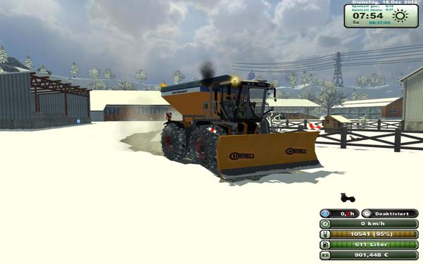 Claas3800 SaddleTrac winter and local