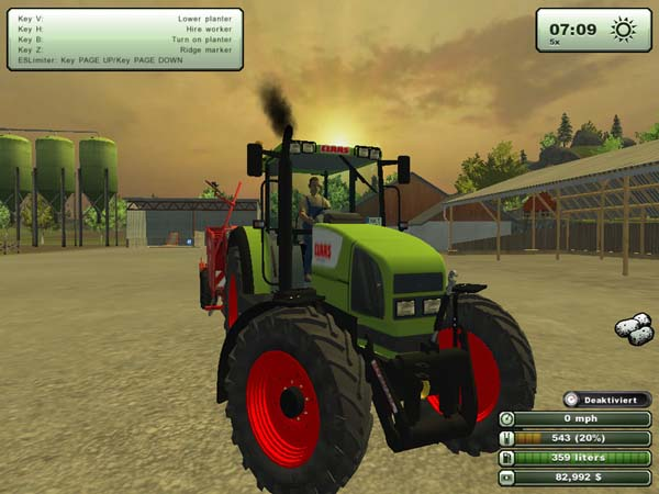 Claas Ares 826 HQ Mod v 1.1 [MP]