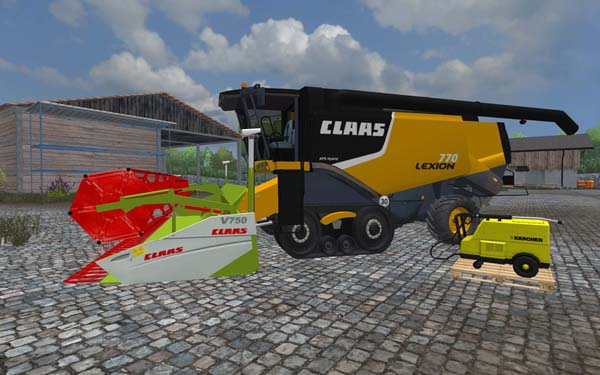 Claas cutter pack