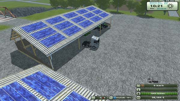 Plazierbarer shelter with solar v 2 [MP]