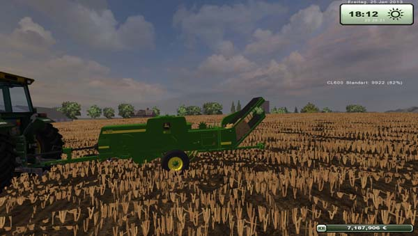 John Deere 348 with centrifugal
