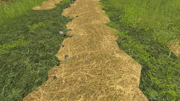 Grass Windrow Texture