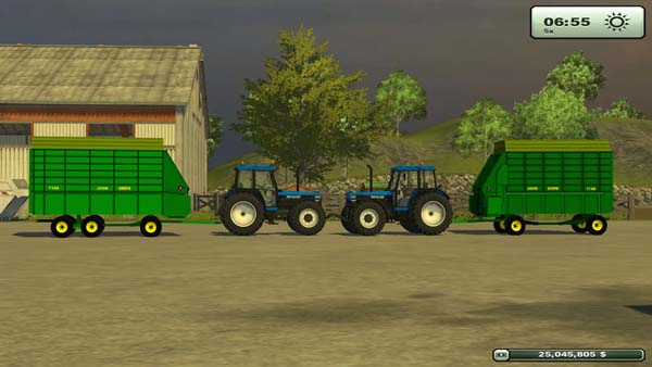 John Deere Forage Wagons