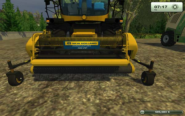 New Holland and Case PU 380 300 FP