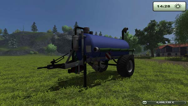 Small water truck