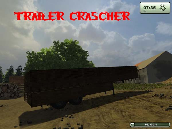 TRAILER CRASCHER