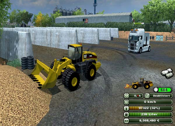 Cat 966H AttachableObjects