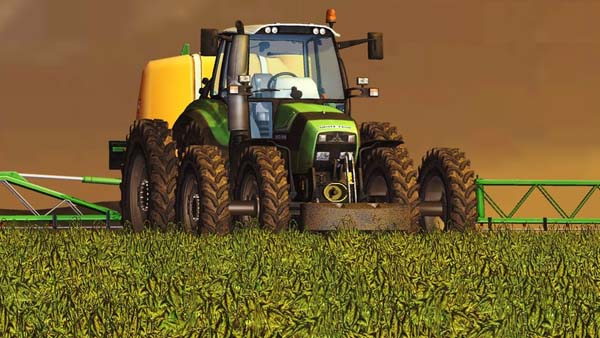 DEUTZ TTV430 CARE WHEELS