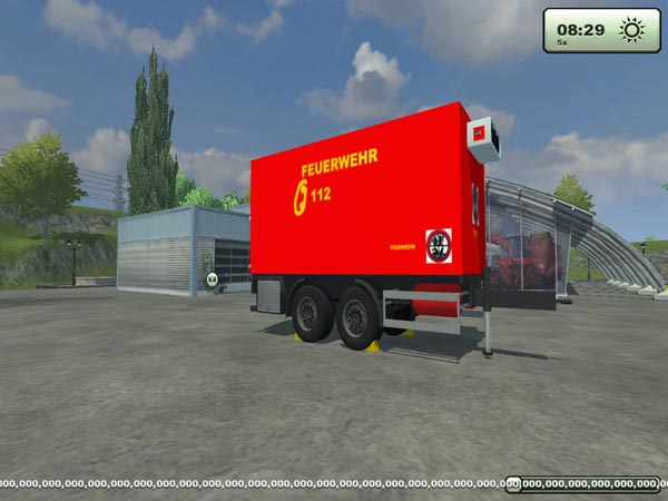 Fire Refrigerated Trailers