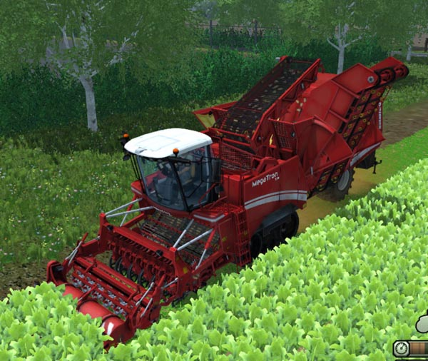 Megatron 50K multi fruit harvester Grimme