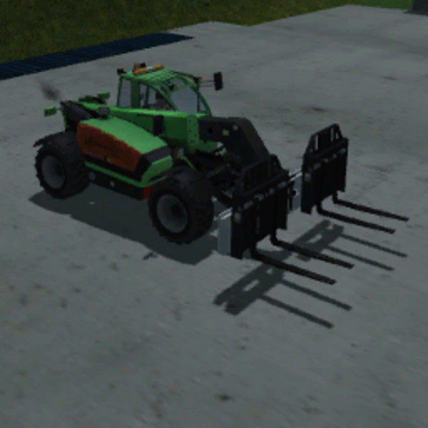 Acrovector double pallet forks