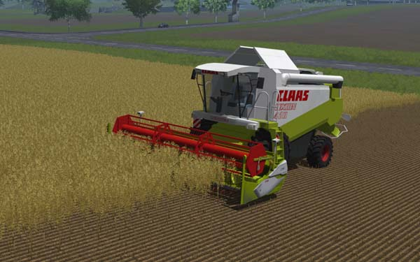 Claas Lexion 420 and C540