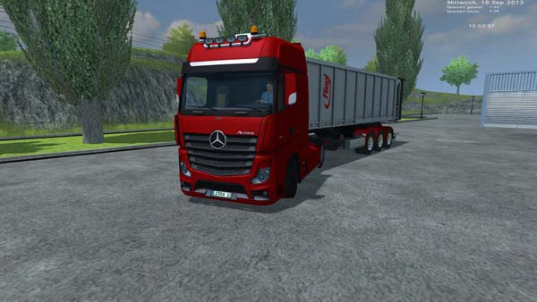 MB Actros MP4