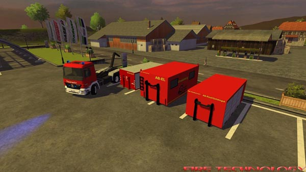 Mercedes Actros WLF PACK