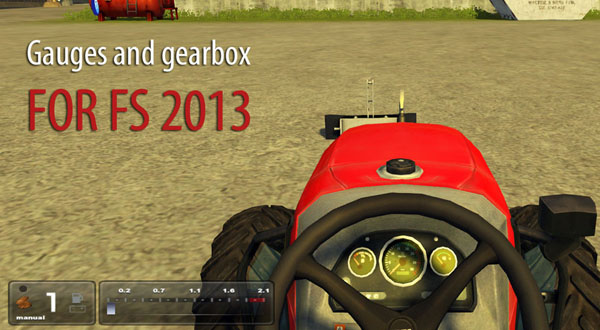 Gauges and Gearbox Realistic