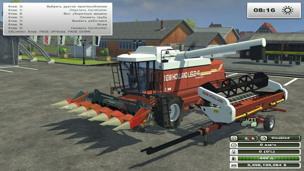 New Holland L624 Pack
