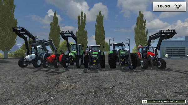 Tractors with Alo Console