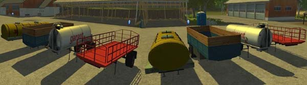 Trailers for ZIL 130
