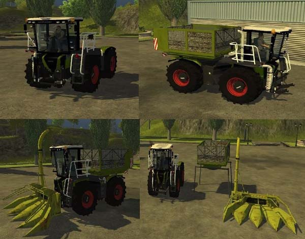 Xerion S Trac Maize Pack