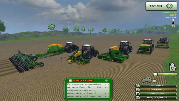 Amazone Sowing Pack