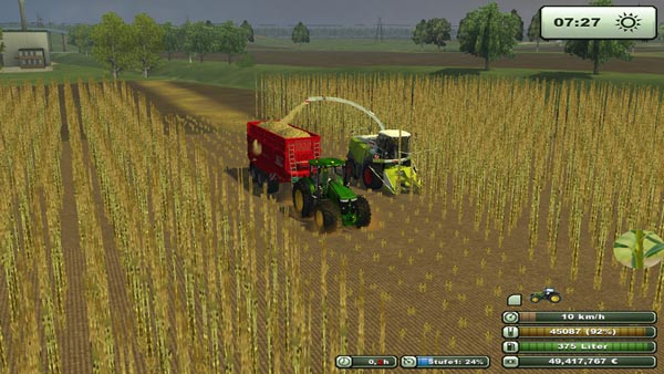 Claas wood header