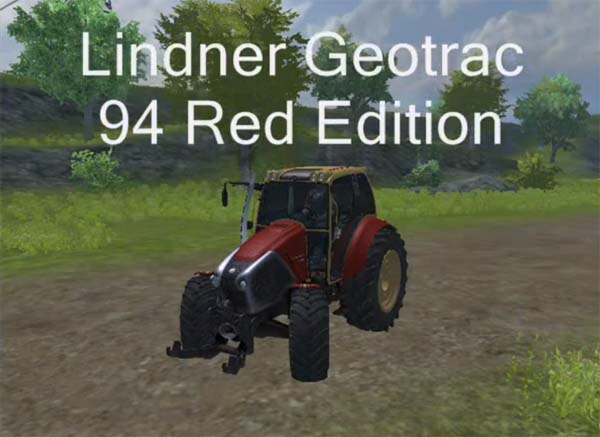Lindner Geotrac 94 Red Edition