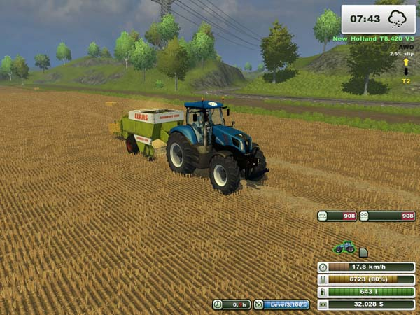 New Holland T8 420