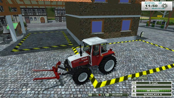Purchasable front hydraulic