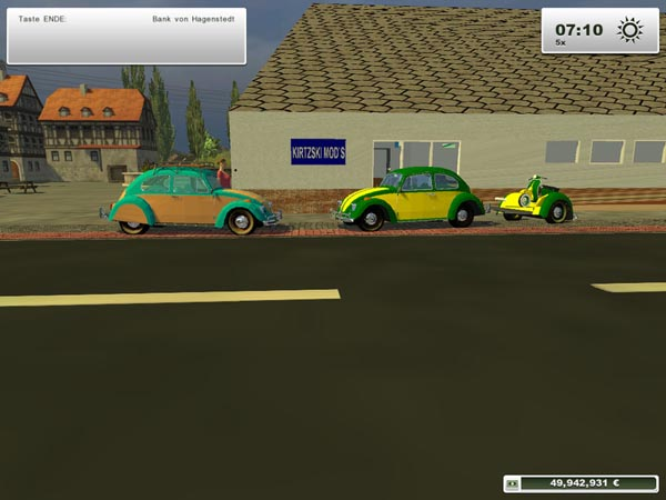 Vw beetle pack