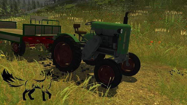 Age homemade tractor