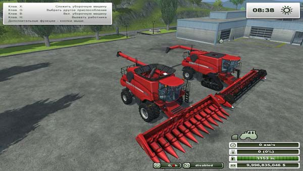 Case IH Axial-Flow 9230 Pack