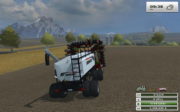 Bourgault Seeding fertilization system