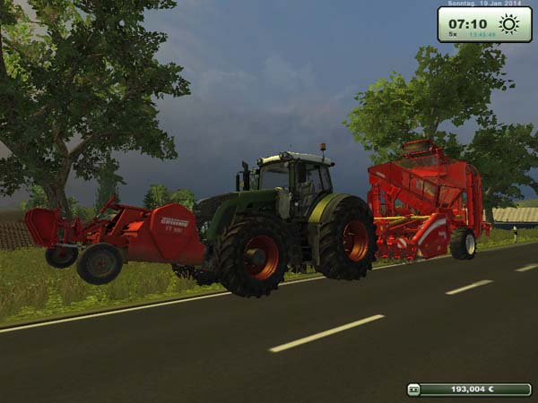 FT300 and beet harvester Combi
