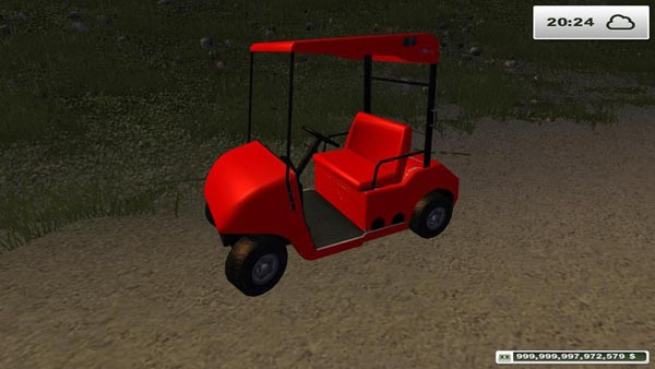 Golf Cart Turbocharged