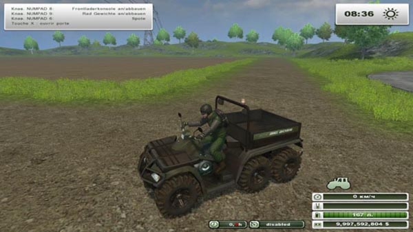 quad polaris farming simulator 2013