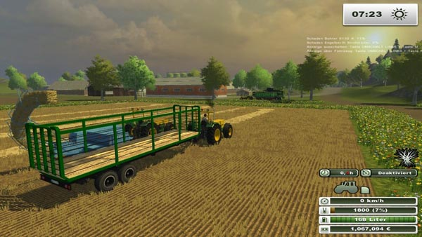 Engelberth straw Trailer