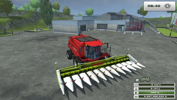 Claas Conspeed Cutter 12 75