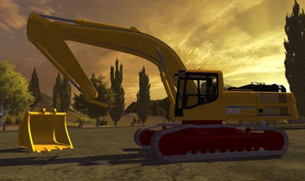 CAT 345B DTP Terrassements Edition
