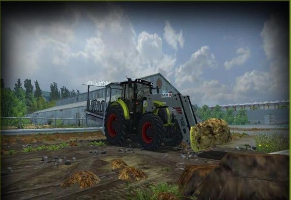 CLAAS 850 CHARGEUR