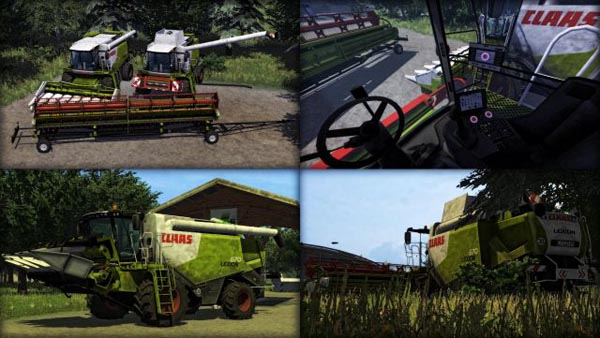 Claas Lexion 670 Package Dirty