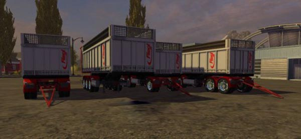 Fliegl TMK Bennes Zorlac Edition Trailers Pack
