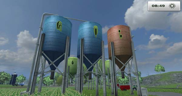 Placeable silos