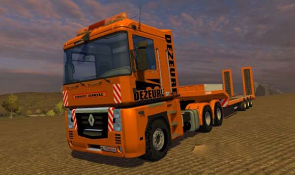 Renault Magnum Dezeure Edition + Trailers Pack