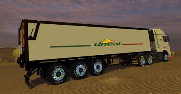 Volvo FH 16 Uneal Edition + Trailer