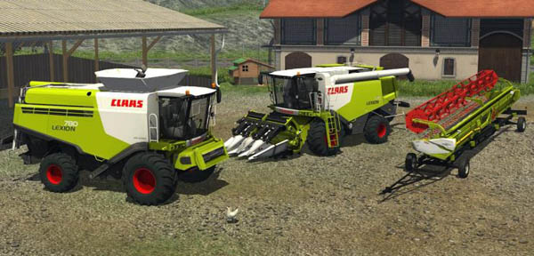 Claas Lexion 780 770 Wheels