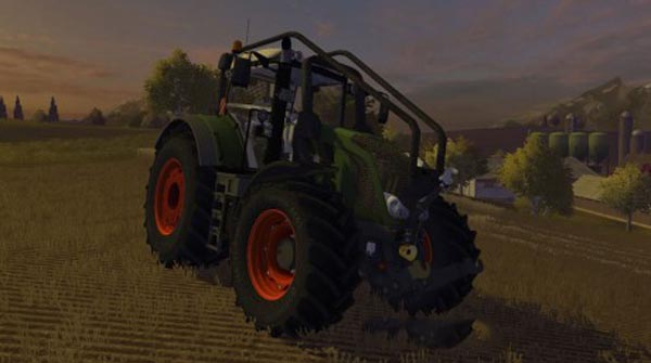 Fendt Vario 828 MR Forest Edition