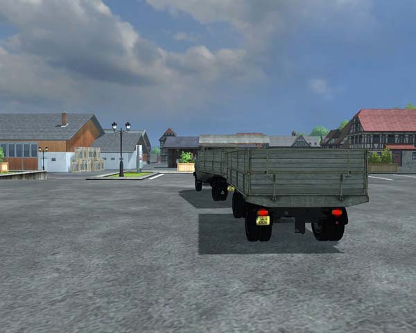 Hanomag F65 Tipper Trailer