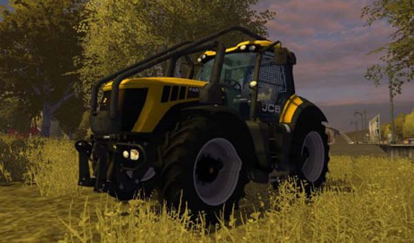 JCB Fastrac 8310 MR Forest Edition
