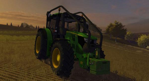 John Deere 6150R Forest Edition