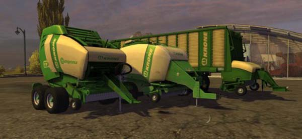 Krone Multi Windrow Pack